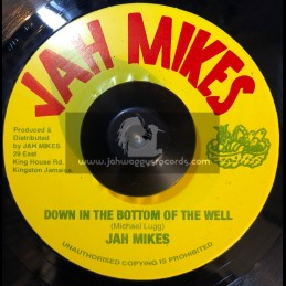 "Jah Mikes-7""-Down In The Bottom Of The Well / Jah Mikes"