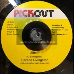 """Pick Out -7""""-Jump / Carlton Livingston"""
