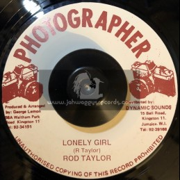 "Photographer-7""-Lonely Girl / Rod Taylor"