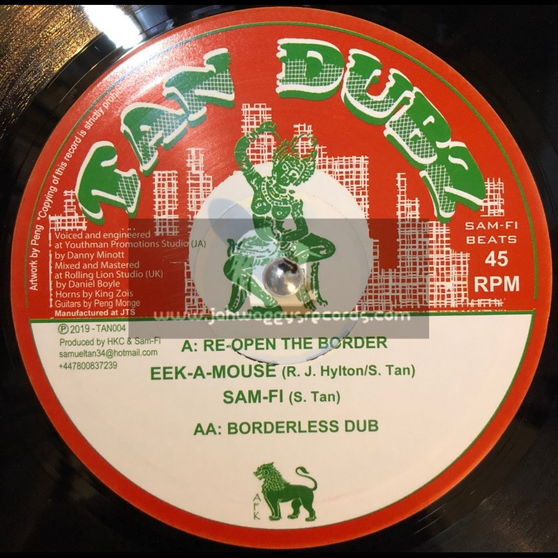 "Tan Dubz-10""-Re-Open The Border / Eek A Mouse"