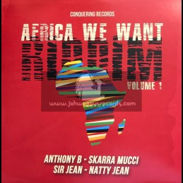"""Conquering Records-12""""-Africa We Want Riddim Volume 1 / Various"""