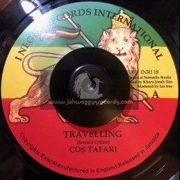 "I Negus Records Inc-7""-Travelling / Cos Tafari"