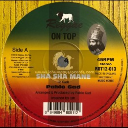 "Reggae On Top-12""-Sha Sha Mane / Pablo Gad"