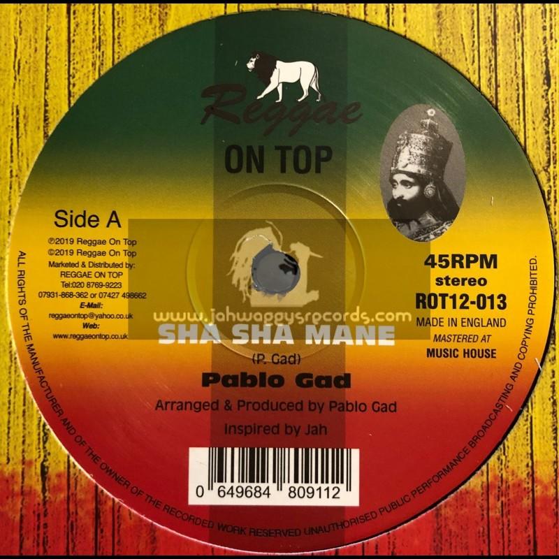 """Reggae On Top-12""""-Sha Sha Mane / Pablo Gad"""