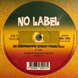 "No Label-12""-Beggermans Child / Pablo Gad"