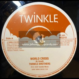 "Twinkle Records-12""-World Crisis / Twinkle Brothers ‎+ Declaration Of Rights / Twinkle Brothers"