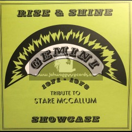 "Gemini-Hornin Sounds-12""-Ep-Rise & Shine Showcase - Tribute To Stare McCallum 1971 - 78 / Various Artist"