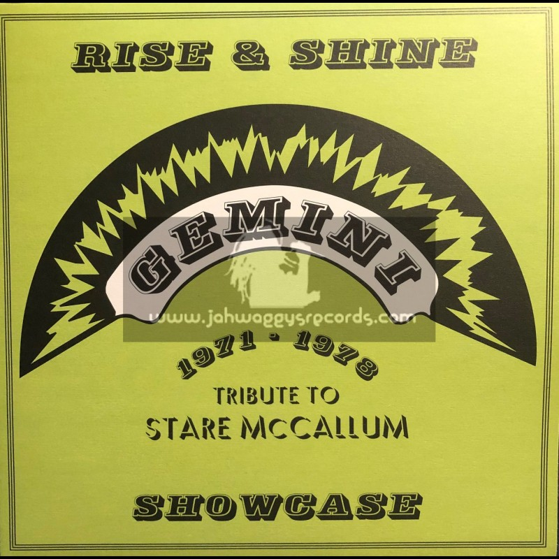 "Gemini-Hornin Sounds-12""-Ep-Rise & Shine Showcase - Tribute To Stare McCallum 1971 - 78 / Various Artist"