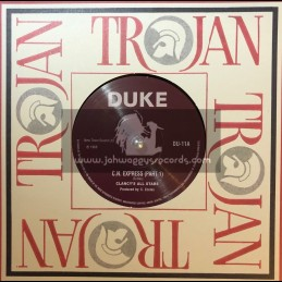 "Duke-7""-C.N. Express (Part 1) / Clancy's All Stars + Can't Get Next To You / The Jay Boys"
