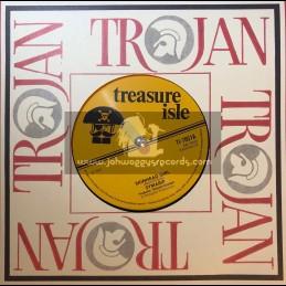 """Treasure Isle-7""""-Skinhead Girl / Symarip + Jumbo Jet / Gloria All Stars"""