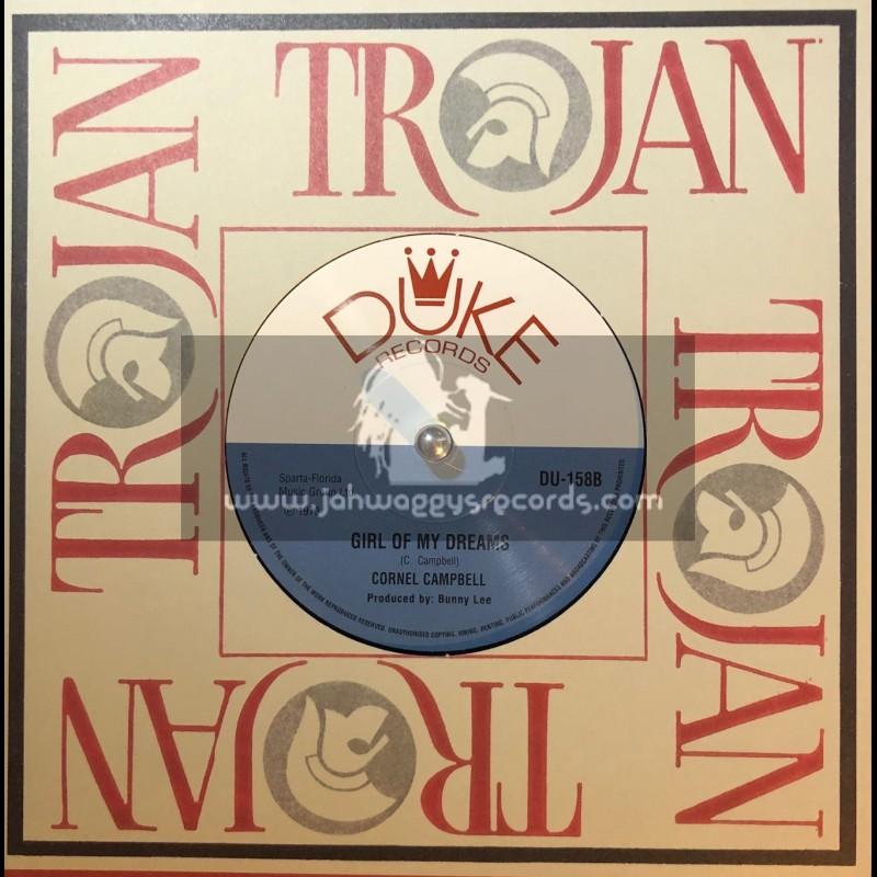 "Duke Records-7""-Girl Of My Dreams / Cornel Campbell + Leaving Rome / Jo Jo Bennett With Mudie's All Stars"