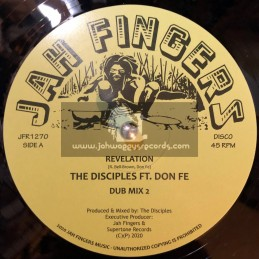 "Jah Fingers Music-12""-Revelation / The Disciples Ft. Don Fe"
