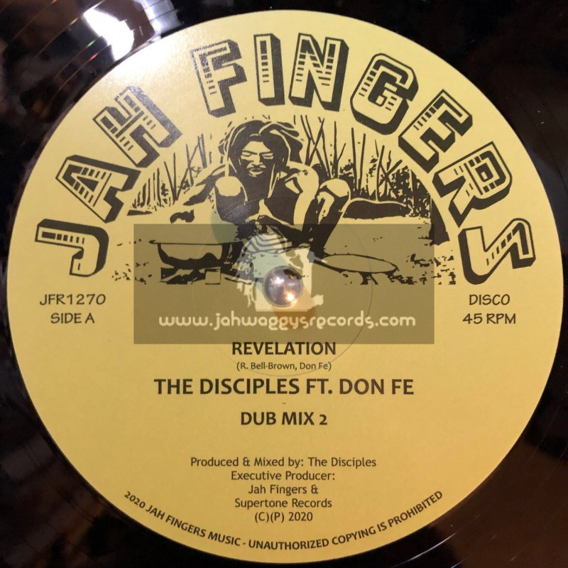"Jah Fingers Music-12""-Revelation / The Disciples Ft. Don Fe"