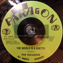 "Paragon-7""-The World Is A Ghetto / The Paragons"