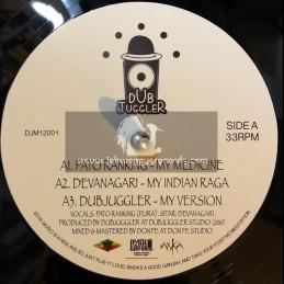 "Dub Juggler-12""-My Medicine / Pato Ranking + Soldados De Musica / Malaka Youth"