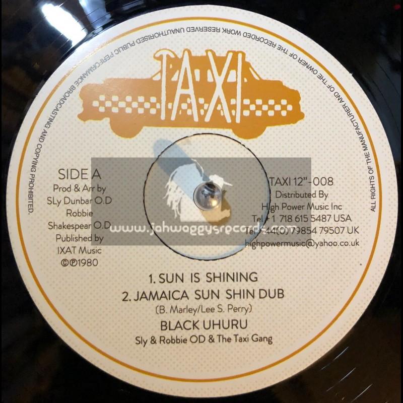 "Taxi Records-12""-Sun Is Shining / Black  Uhuru + Tribulation / Joe Whyte"