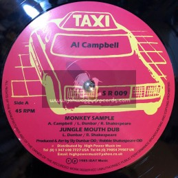 "Taxi-12""-Monkey Sample / Al Campbell + Halla Them A Halla / Linval Thompson"