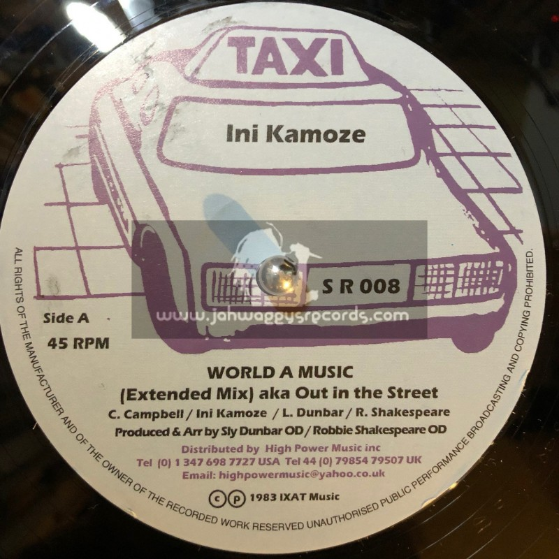"Taxi-12""-World A Music / Ini Kamoze (Aka Out In The Street)"