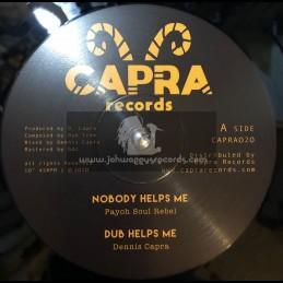 "Capra Records-10""-Nobody Helps Me / Payoh Soul Rebel + Mafia / Louie Melody"