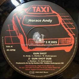 "Taxi-12""-Gun Shot + She Gone / Horace Andy"