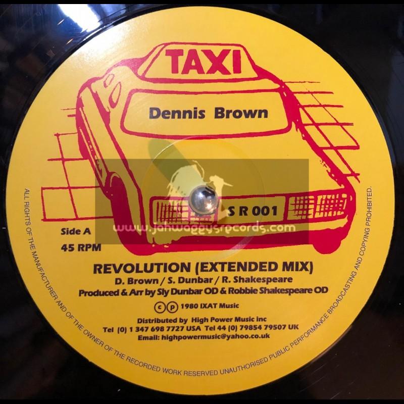 "Taxi-12""-Revolution / Dennis Brown"