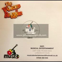 "D.E.B. Music-12""-DEB Music Showcase Ep Vol 2-Storm Is Coming / Junior Delgado + Warrior Nah Tarry Yah / Junior Delgado"