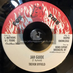 "Fox Fire Records-7""-Jah Guide / Trevor Byfield"
