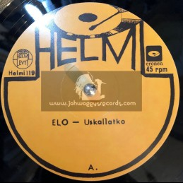 """Helmi Levyt – Helmi119-10""""-Uskallatko · Elo"""