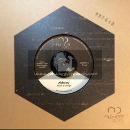 "Alchemy Dubs-7""-Alchemy / Alpha & Omega + Alchemy Dub / Ojah rfx"