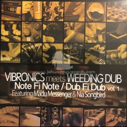 "Scoops Records-12""-Vibronics Meets Weeding Dub - Note Fi Note / Dub Fi Dub Vol​.​1"