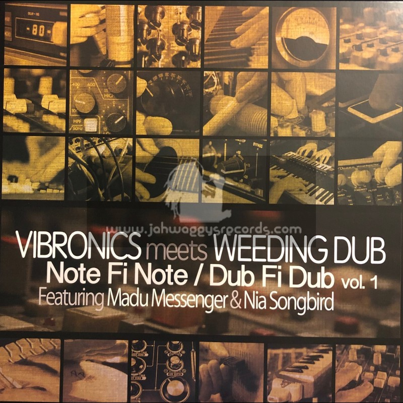 "Scoops Records-12""-Vibronics Meets Weeding Dub - Note Fi Note / Dub Fi Dub Vol.1"