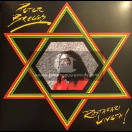 Top Ranking Sound-Lp-Rastafari Liveth / Peter Broggs 