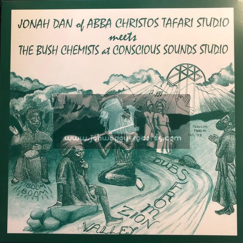 Mania Dub-Lp-Dubs From Zion Valley / Jonah Dan meets The Bush Chemists