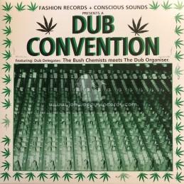 Mania Dub-Lp-Dub Convention / The Bush Chemists meets The Dub Organiser