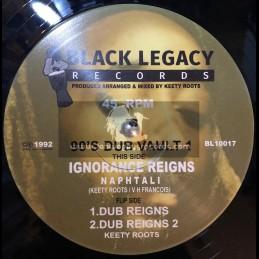 "Black Legacy Records-10""-Ignorance Reigns / Naphtali - 90s Dub Vault 1"