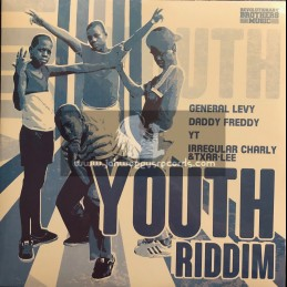 """Revolutionary Brothers Music-12""""-Never Never / General Levy + Dem No Real / Daddy Freddy + Mission / YT"""