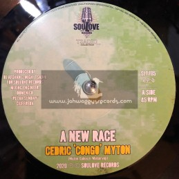 "Soul Love-7"" New Race / Cedric Congo Myton"
