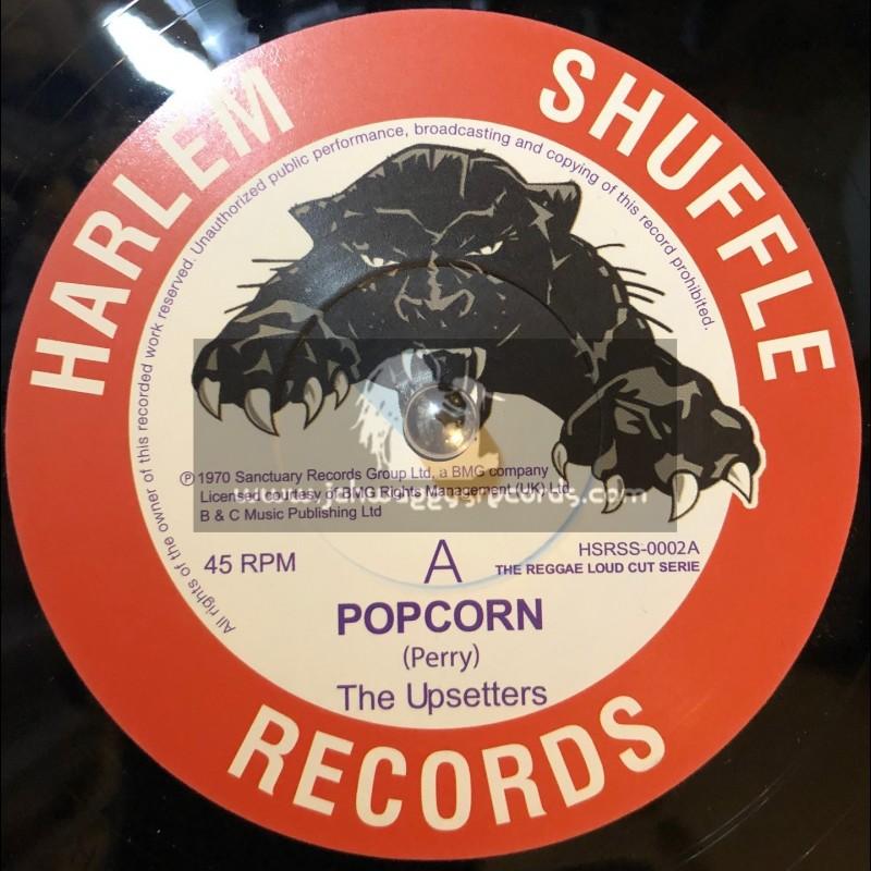 "Harlem Shuffle Records-7""-Popcorn / The Upsetters + Tight Spot / Dave Barker & The Upsetters"
