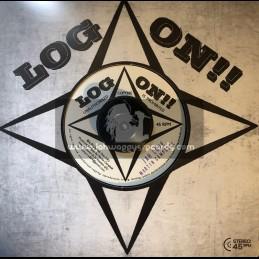 "Log On-7""-Jah Love / Martin Campbell"