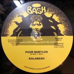 "Bash-TRS-12""-Puur Babylon / Kalabash"