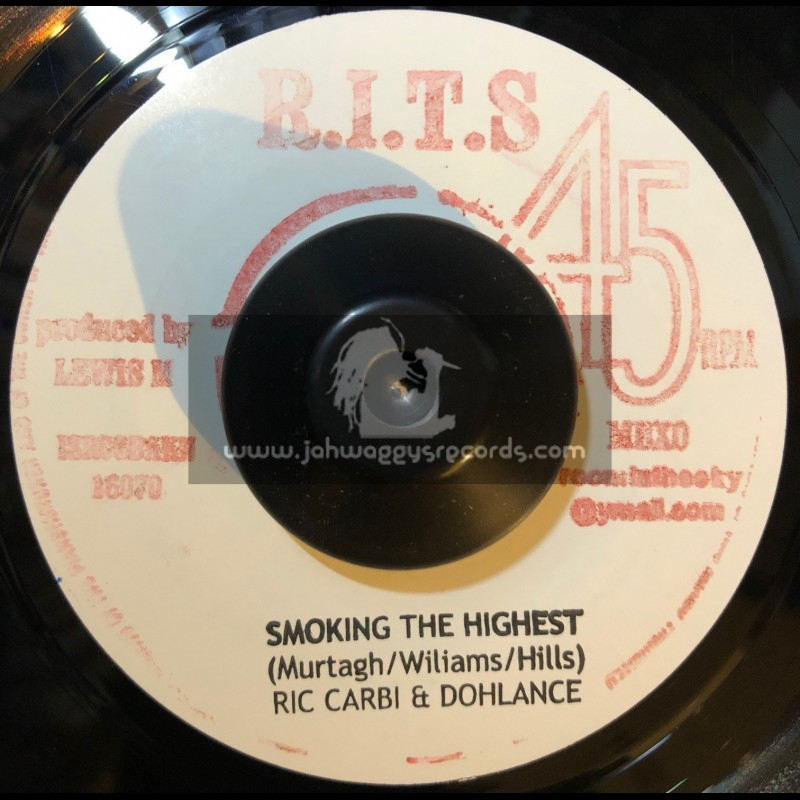 """Room In The Sky-7""""-Smoking The Highest / Ric Carbi And Dohlance"""