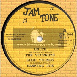 "Jam Tone-12""-Unite/The Viceroys + Good Things/Ranking Joe + Pains And Agony/Bob Skeng + Dub"