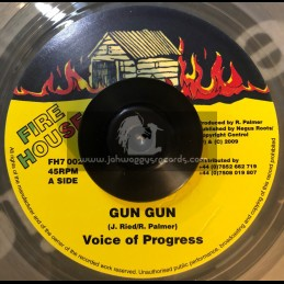 """FIRE HOUSE-7""""-GUN GUN / JUNIOR RIED"""