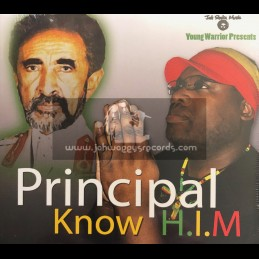 Jah Shaka Music-CD-Know H.I.M / Principal