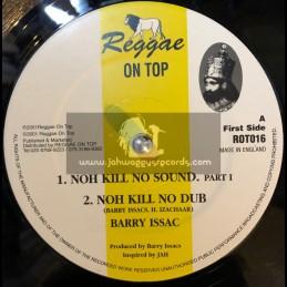 "REGGAE ON TOP-12""-NOH KILL SOUND/BARRY ISSAC + HUGHIE IZACHAAR"