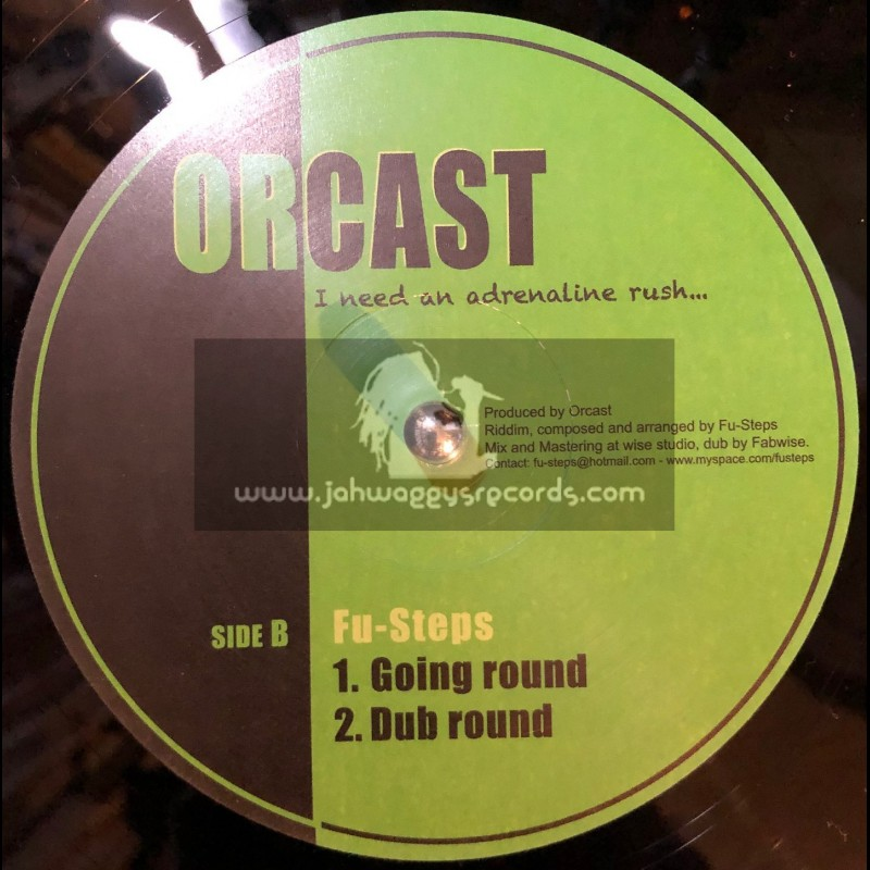"""Orcast-12""""-My Sound + Going Round / Fu Steps"""