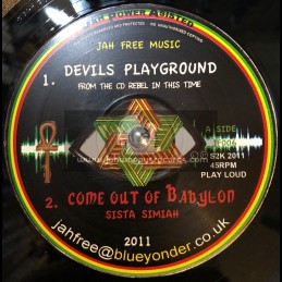 "Jah free music-12""-Devils Playground / Jah Free / Sista Simiah / Sista Sherin"