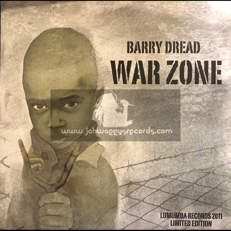 """Lumumba Records-12""""-War Zone / Barry Dread (Limited Edition)"""