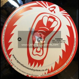 "OPERATION RECORDS-12""-RIGHTEOUSNESS + BLESS ME / JAH MIKES"