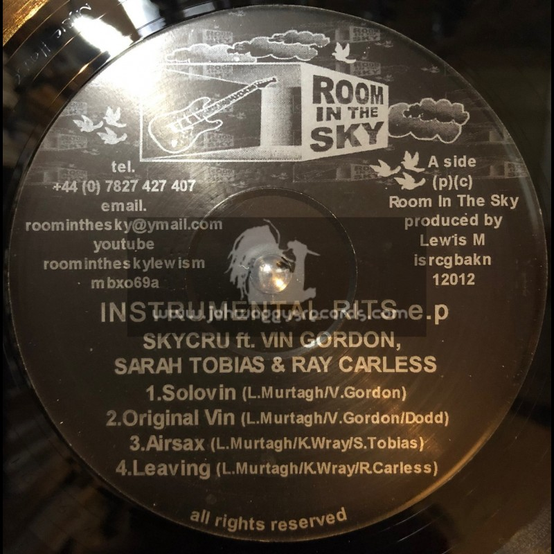 """Room In The Sky-12""""EP-Instrumental Rits / Various Artists"""